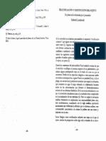 Lombardi G - Rectificacion y Destitucion Del Sujeto