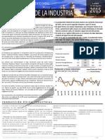 Industria Ultimos Resultados Junio2015