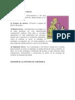 Division de La Historia de Guatemala