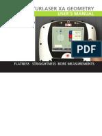 P-0226-GB Fixturlaser XA Geometry Manual, 3rd Ed