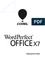 Corel Wordperfect Office x7 Deployment Guide