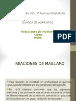 Reaccciones de Maillard.ppt