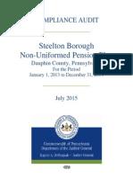 Compliance Audit Steelton Non-Uniformed Pension Plan