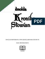Helmold - Kronika Slowian