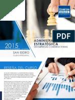Brochure Curso Administracion Estrategica Empresas Constructoras