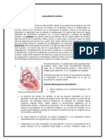 Auscultación cardiaca