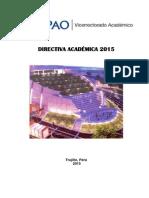 Directiva Académica 2015