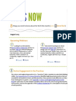 August 2015 NGSS NOW Newsletter