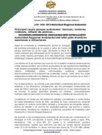 Nota de Prensa 034 - Aumenta Contaminación Sonora en Arequipa