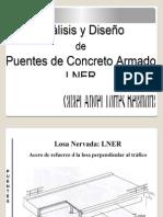Analisis y Diseño de Puentes de Concreto Armado LNER