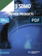 Sdmo-generator Katalog Eng