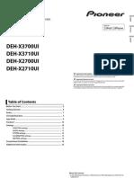 DEH X3700UI OwnersManual060614