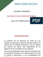 Sesión Auditoría de Cuentas  Por Cobrar