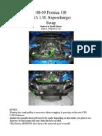 Pontiac G8 - LSA Swap - How To Guide