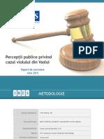 IRES_Perceptii Publice Privind Cazul de Viol de La Vaslui_2015_DIGI24