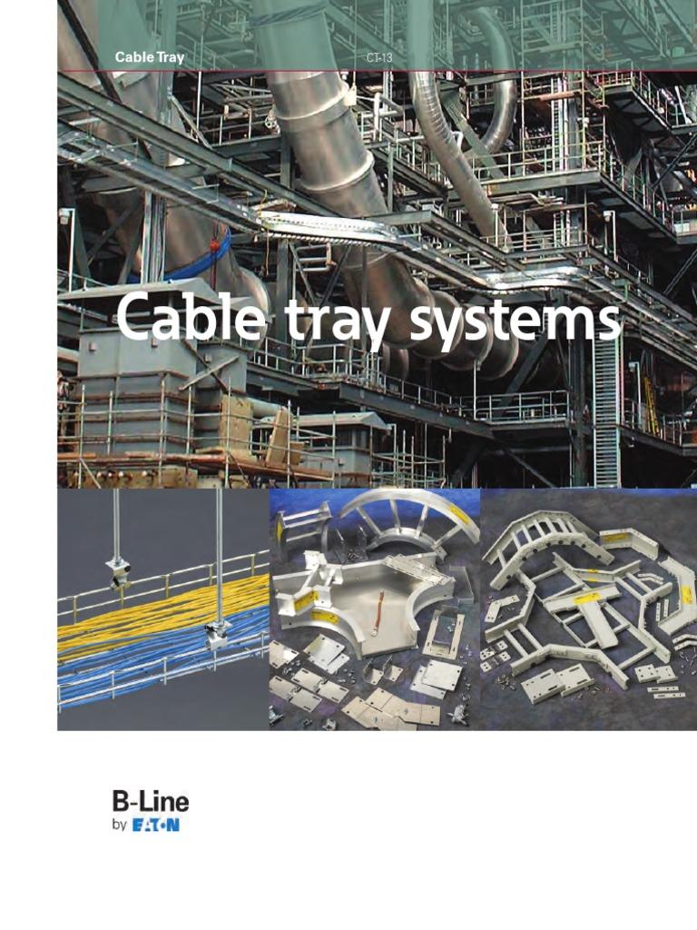 Eaton B-Line Cable Management CT-13   Corrosion   Auto Cad