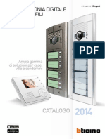 Catalogo Videocitofonia 2014