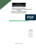 Introducción a La Geometría Euclidiana