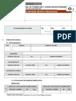 Formato Segundo Informe Tecnico Pedagógico Especializaciones Hge Fcc 2011
