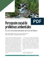 Percepcion Social de Problemas Ambientales