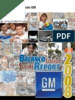 GM Relatorio Social 2008