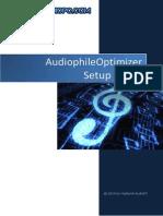 Audiophile Optimizer Setup Guide | Device Driver | Microsoft Windows