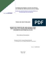 Desenvolvimento de argamassa para perfuracao utilizando residuo de polimento de porcelanato