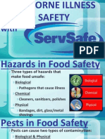 fs-food borne illness & food safety with safeserv