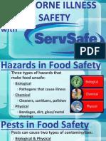 fs-food borne illness & food safety with safeserv