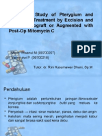 A Clinical Study of Pterygium and Results Of