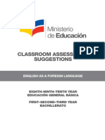 05 Classroom Assessment Suggestions EFL Agosto 2014