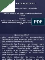 10. Política