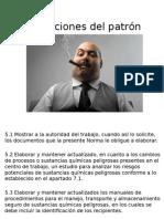 Obligaciones Del Patron Apartado 5 y Botiquin
