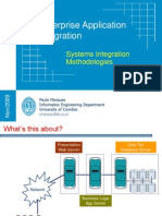 Enterprise Application Integration - System Integration Methods