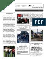 Newsletter from Rav Naz