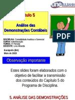 Capítulo 5 - Análise Das Demonstrações Contábeis (Dc)