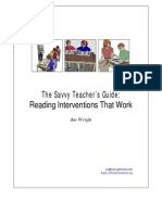 reading interventions that work