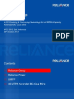 Reliance 2012