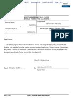 Mireille Carrier v. Valueclick Inc et al - Document No. 38