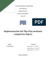Flip Flop(Practica Sistemas Digitales)