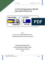 Pemrograman CNC Turning Dengan Software Mastercam
