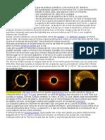 Eclipse Solar y Lunar