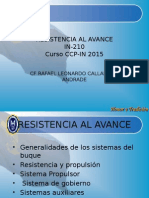 Clases de Resistencia Al Avance Cap 1