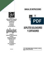 Manual Sopletes y Cortadores en Español