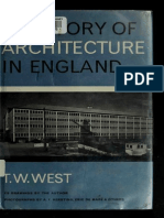 A History of Architecture in England (Art eBook)