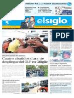 Edicion Impresa El Siglo 05-08-2015