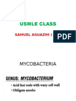 Usmle Class Mycobacterium