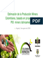 Proyecciones de Producción (2s008-2019)1