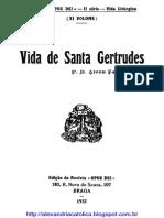 Ferreira Alves - Vida de Sta Gertrudes