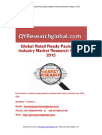 Global Retail Ready Packaging Industry Market Research Report 2015